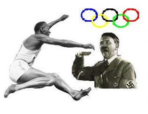 Jesse Owens faceoff Nazi Germany 300x230 Olympics Games & Manifestation of Sports under Capitalism