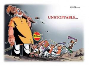 unstoppable modi